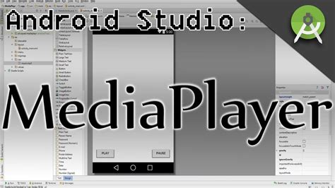 android studio tutorial music player android music player tutorial start stop pause song in
