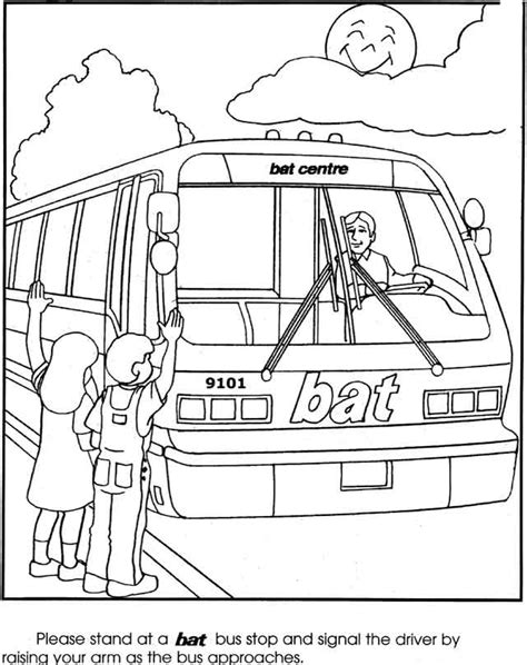 bus coloring page pdf free coloring pages of bus