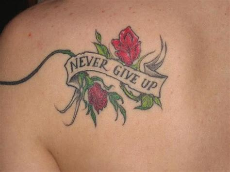 rose tattoo with words 65 trendy roses shoulder tattoos