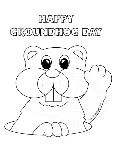 groundhog day viewing worksheet groundhog day mask coloring pages