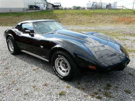 1977 black corvette 1977 corvette for sale 1977 black l82 corvette 4spd
