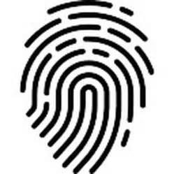 thumb fingerprint vector free download