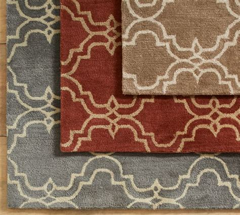Pottery Barn Scroll Rug Scroll Tile Rug Terra Cotta Pottery Barn