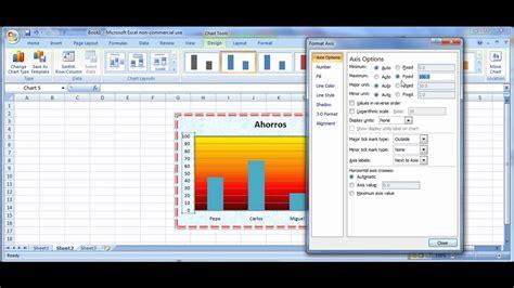 tutorial excel graficas 2010 tutorial excel modificar gr 225 ficas datos color escalas