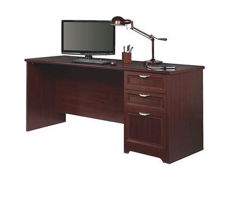 Magellan Computer Desk Magellan Performance Outlet Collection Executive Desk 30 Quot H X 70 9 10 Quot W X 23 1 4 Quot D Cherry