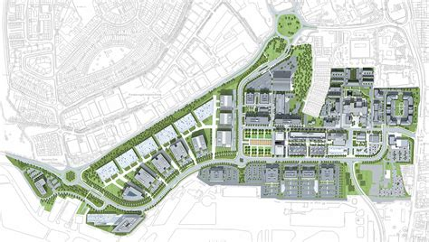 layout master plan business park master plan google search architecture