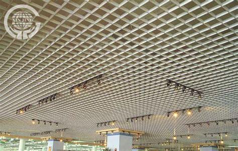 Hung Ceiling Tiles Aluminium Hanging Ceiling Tiles Open Metal Grid Ceiling