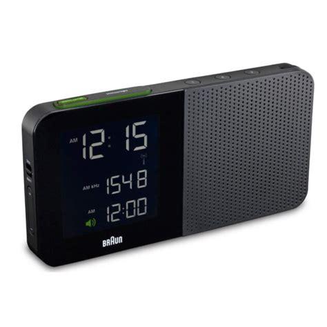 braun digital alarm clock radio reviews wayfair
