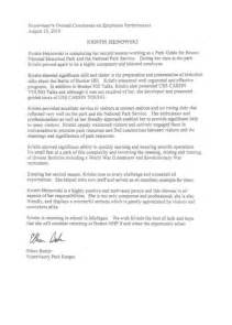 letter of recommendation for paraprofessional template