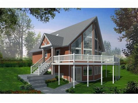 frame house plans lovely a frame house plans with walkout basement new