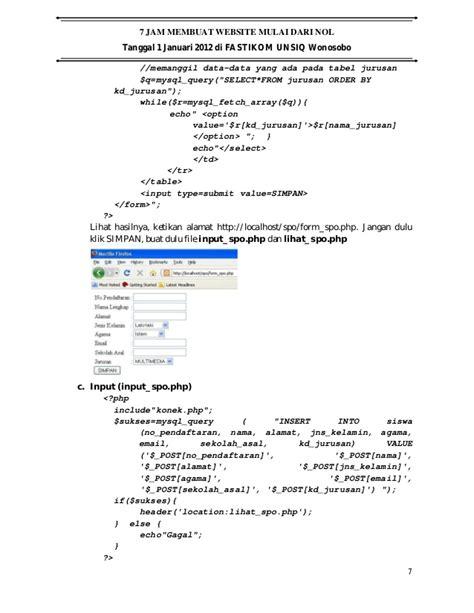 membuat web dari xp 7 jam membuat web dari nol
