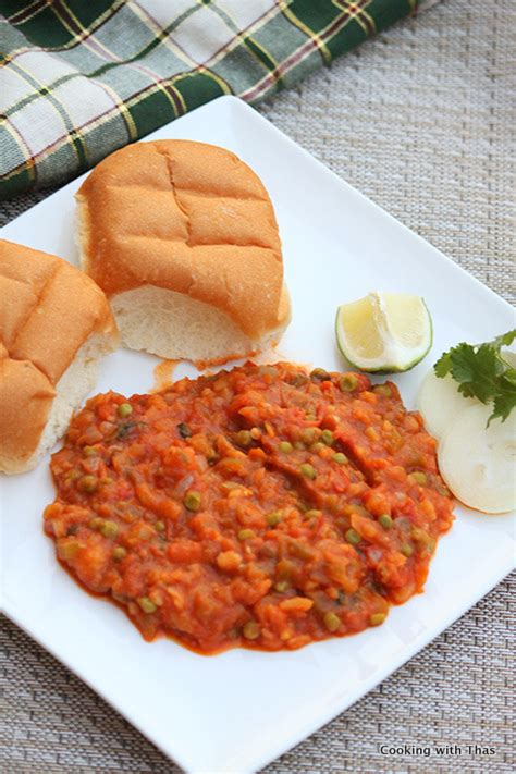 how to cook pav bhaji pav bhaji recipe cooking with thas