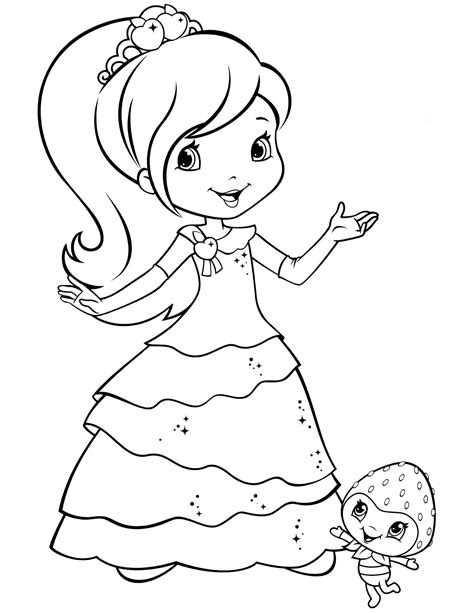 strawberry shortcake 70 coloringcolor com