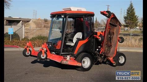 air conditioned lawn mower price 2005 jacobsen hr9016 turbo diesel 4wd lawn mower