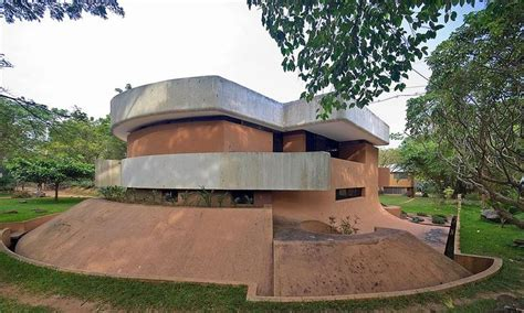 auroville house designs auroville house of roger anger merger of sculpture architecture architecture