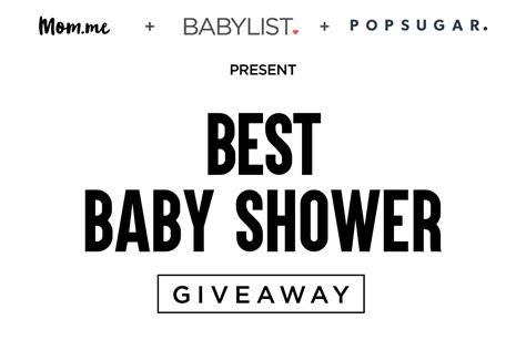 Baby Sweepstakes And Giveaways - babylist s best baby shower giveaway sweepstakes