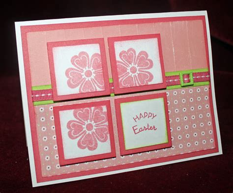 Handmade Cards Ideas - papers pads and pictures a handmade easter card using