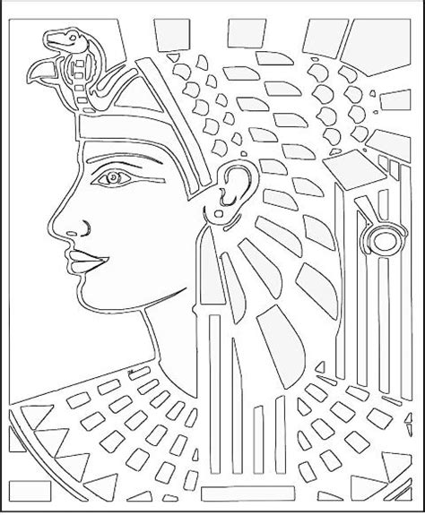 printable egyptian art ancient egyptian coloring pages 061611 187 vector clip art