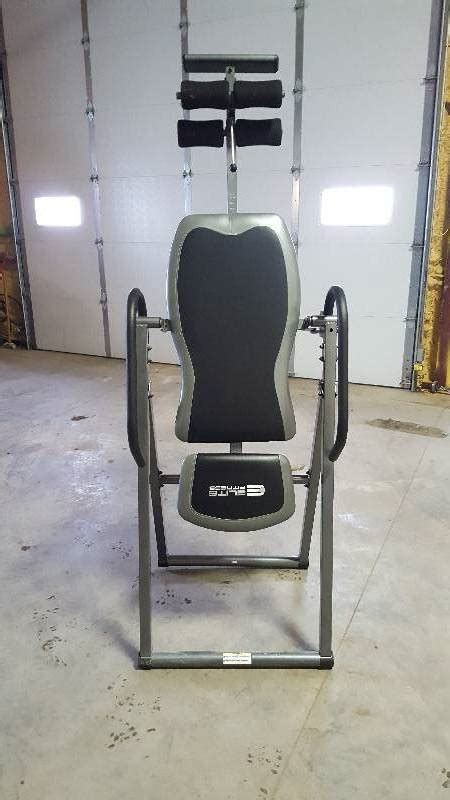 elite fitness deluxe padded inversion table elite fitness it9600 e deluxe inversion table jan 2017