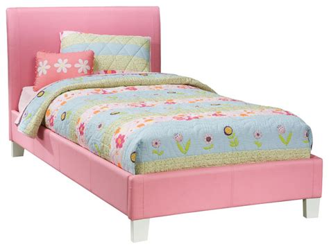 kids bed standard furniture fantasia upholstered platform bed in
