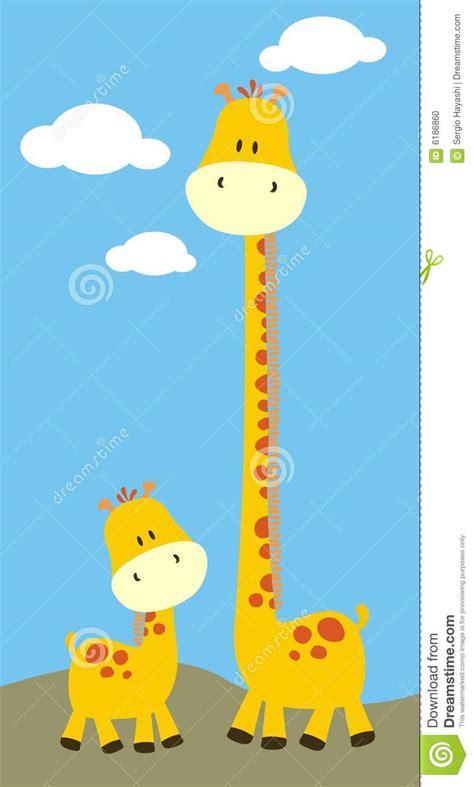 imagenes jirafas infantiles jirafas infantiles del safari ilustraci 243 n del vector