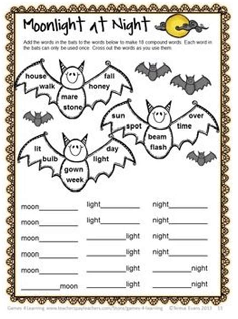 printable halloween puzzle games 17 best images about word puzzles on pinterest summer