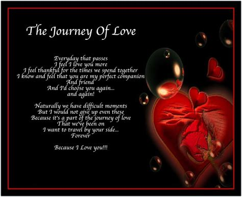 images of love journey personalised journey of love poem birthday valentines day