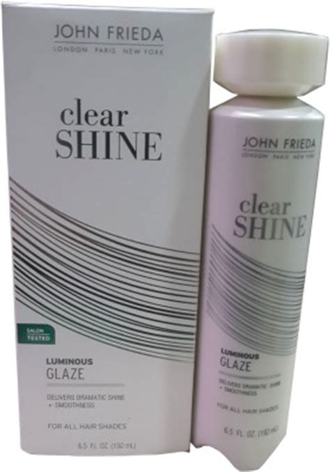frieda luminous color glaze clear shine 72 on frieda clear shine luminous glaze hair