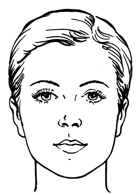 face coloring pages for kids az coloring pages