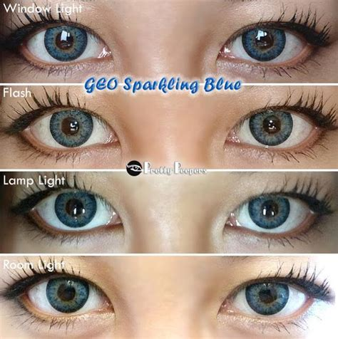 light blue color contacts for dark eyes neo glamour blue colored contacts circle lenses and