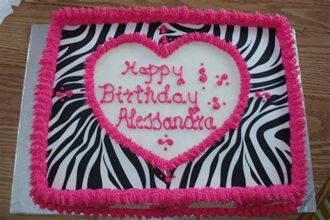 zebra pattern birthday cake wilton zebra pattern sugar sheets and buttercream