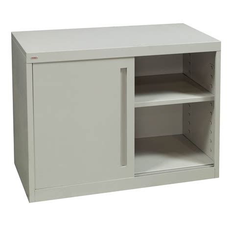 Used Storage Cabinets With Doors Holga Used 2 Door Slide Storage Cabinet Putty National Office Interiors And Liquidators
