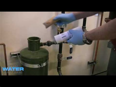 how to use a chemical bypass feeder youtube