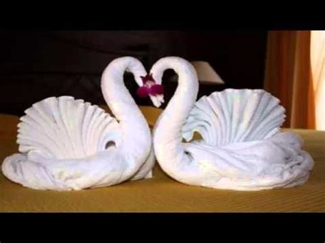 Swan Towel Origami - 25 best ideas about towel animals on towel