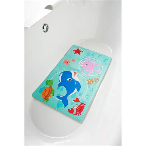 Heated Bath Mat Children S Heat Indicator Bathmat Non Slip Mats