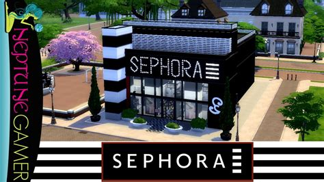 Sephora Cc sims 4 speed build sephora store