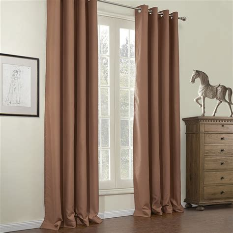 hotel style blackout curtains this henna curtain panel features a blackout design with a
