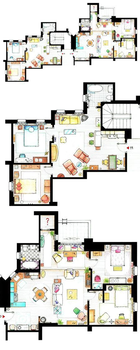 monica and rachel s apartment 25 best ideas about apartment layout on pinterest sims