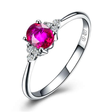 Ruby 5 45 Ct 0 45ct ruby ring s day gvbori 18k gold