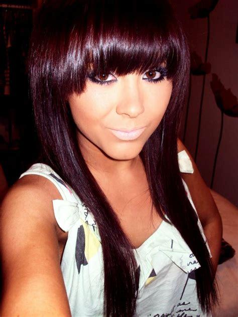 black violet hair color brown violet hair color think i look asian here s