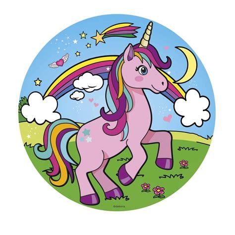 ver imagenes unicornios 12 discos oblea unicornio 20cm dekora