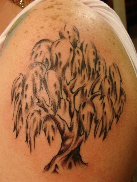 small willow tree tattoo weeping willow designs ideas and meaning tattoos