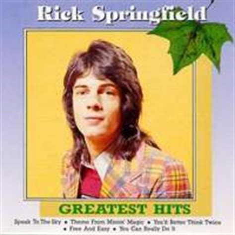 Rick Springfield The Encore Collection Cd rick springfield discography reference list of cds