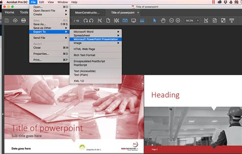designing in indesign for powerpoint how to convert indesign to powerpoint documents with