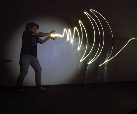 light for drawing drawing with light