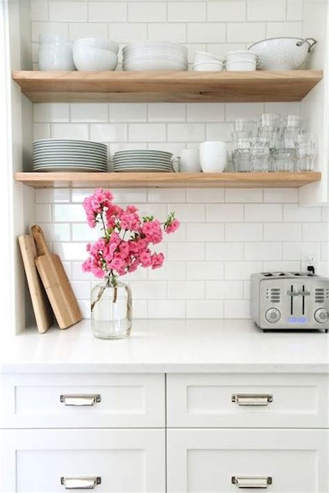 kitchen open shelves open shelving for an affordable kitchen update