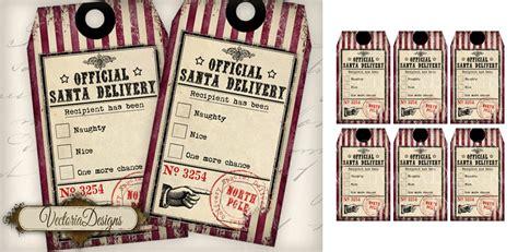 Printable Naughty Nice Gift Tags | naughty and nice christmas gift tags by vectoriadesigns on