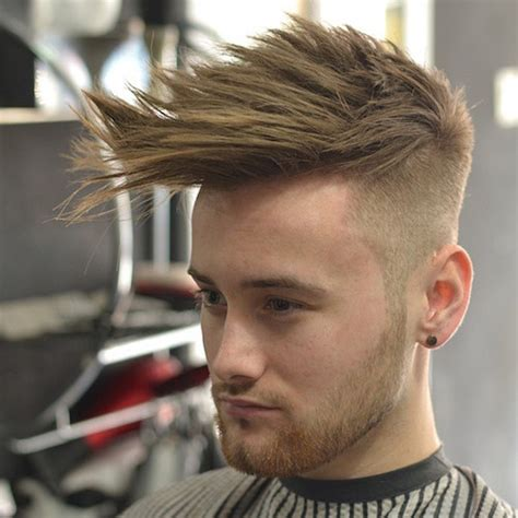 textured top faded sides 80 most popular men s haircuts hairstyles 2015