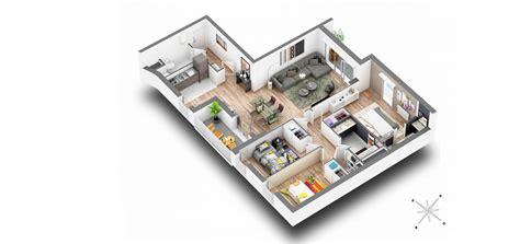 Plan 3d Appartement 4476 by Plan 3d Appartement Plans 3d D 39 Appartements Studio