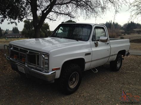 rust free pickup beds 1986 chevy short bed 4x4 rust free